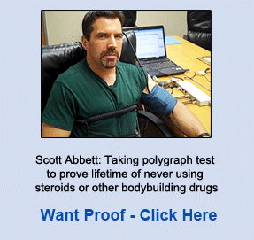 Want Proof? Scott Abbett Taking a Polygraph Test